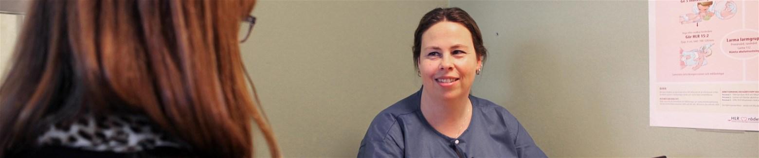 Specialistsjuksköterska med inriktning mot distriktssköterska - folkhälsa bd7a5a84f7345
